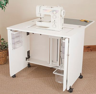 Fashion Cabinets Of America Model 7500 E Saver Sewing Cabinet Pocket Doors Extra Deep