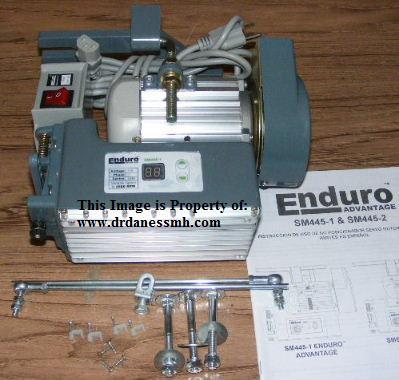 enduro sewing machine motor